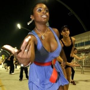 Daiane dos Santos evolui em ensaio técnico da Pérola Negra em SP