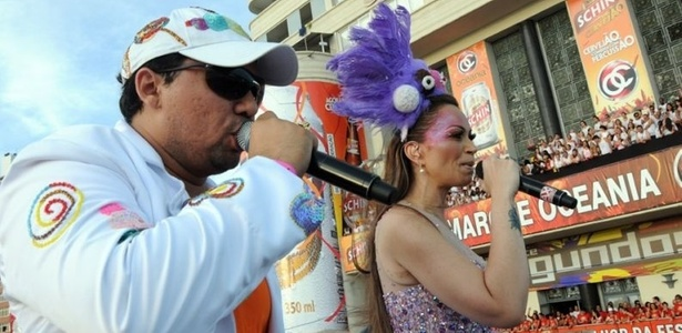 Xand Avião e Solange Almeida animam o circuito Barra-Ondina com Aviões do Forró, no segundo dia do Carnaval de Salvador (04/03/2011)