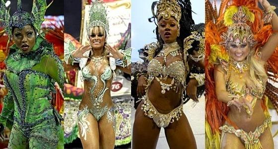 De Ouro S O Destaque No Dia Desfiles Do Carnaval Paulo