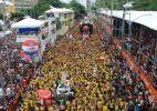 Banda Eva desfila no circuito Campo Grande