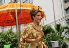 Ivete Sangalo encarna a egípcia em Carnaval baiano