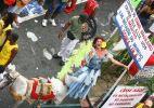 Bloco Mudança do Garcia faz protesto político em Salvador