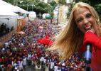 Carla Perez anima a garotada no circuito Campo Grande