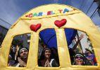 Bloco carioca Carmelitas anima o bairro de Santa Teresa