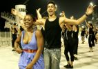 Com Daiane dos Santos, Pérola Negra ensaia no Anhembi