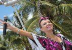 Eliana canta para foliões do bloco Happy pelo sétimo ano