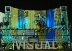 Beto Jamaica faz show colorido no circuito Campo Grande
