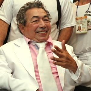 Joãosinho Trinta prestigia o desfile das escolas de samba no Rio de Janeiro (15/02/2010) - Buda Mendes/UOL