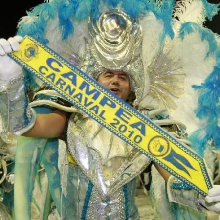 Unidos da Tijuca, em 2010, foi a última campeã desfilando no domingo - Marcelo de Jesus/UOL