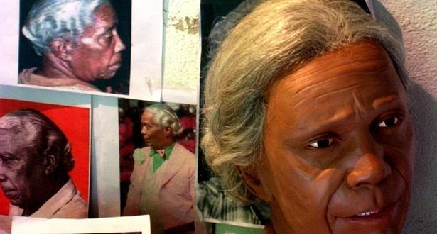 Estudo e montagem da escultura em tamanho real do Nelson Cavaquinho feito pelo artista Marcelo Rezende (fevereiro/2011)