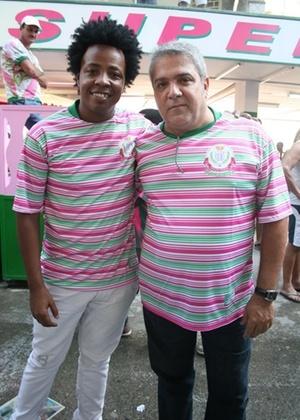 Wagner Gonçalves e Mauro Quintaes, os carnavalescos da Mangueira (fevereiro/2011)