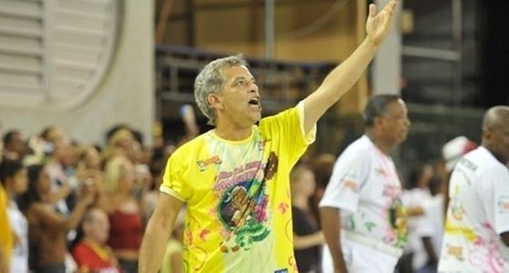 Jaime Arôxa, da comissão de frente da Mangueira (fevereiro/2011)