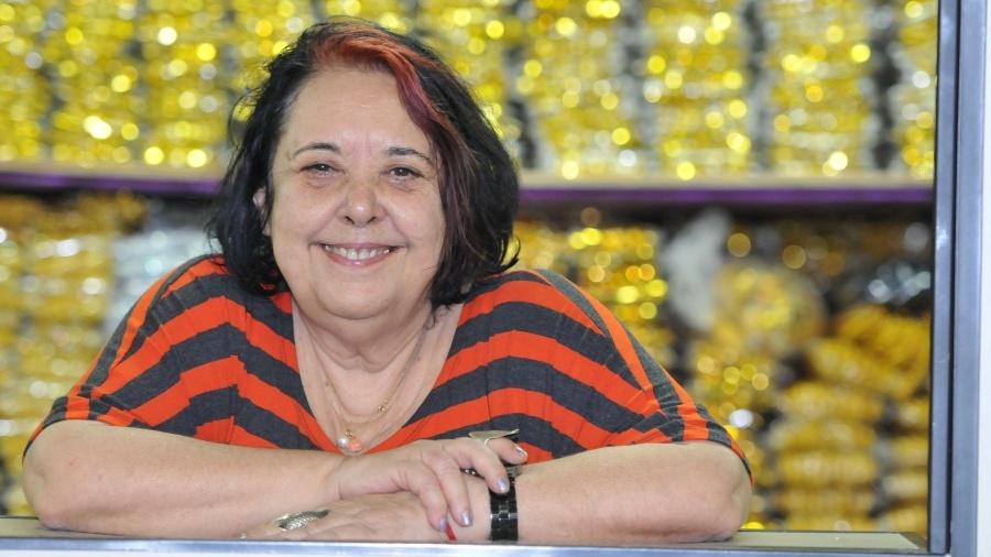 A carnavalesca Rosa Magalhães - Divulgação
