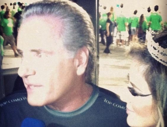 Roberto Justus em Camarote do Carnaval de São Paulo